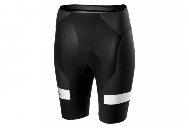 Castelli Free Aero 4 W Team Women Bibless Shorts Black White