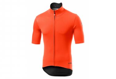 Veste Coupe-Vent Manches Courtes Castelli Perfetto RoS Light Orange
