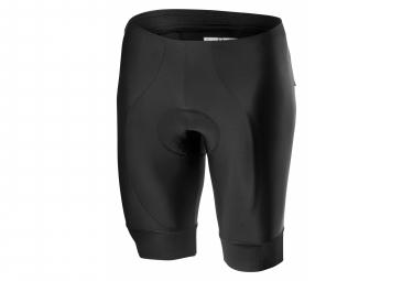 Shorts sin tirantes Castelli Entrata negro