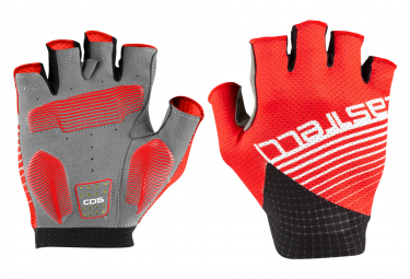 Castelli Competizione Short Gloves Red