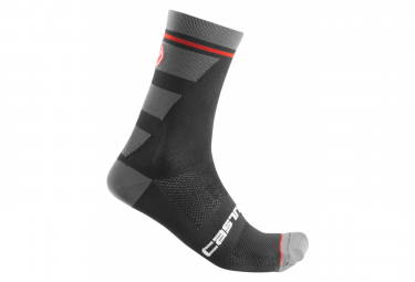 Castelli Trofeo 15 Pair of Socks Black