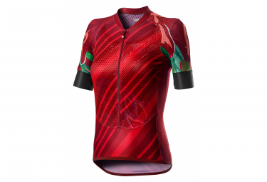 Castelli Climber's W Women Short Sleeve Jersey Red
