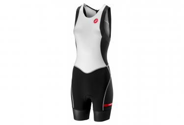 Castelli Free W ITU Women Sleeveless Tri Suit White Black