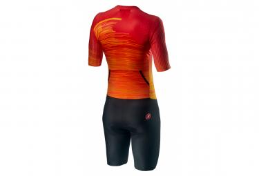 Castelli PR Speed Tri Suit Fiery Red