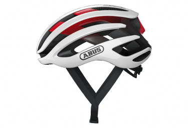 Abus AirBreaker Road Helmet White / Red