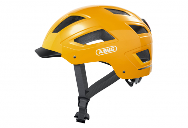 Casco Urbano Amarillo Abus Hyban 2 0 Icon L  58 62 Cm