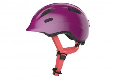 Casco Abus Smiley 2 1 Ninos Brillante Purpura M  50 55 Cm