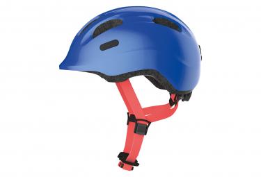 Abus Smiley 2.1 Shiny Blue Child Helmet