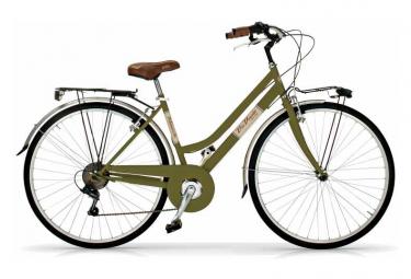 Vélo de ville VIA VENETO ALLURE 28  6V. FEMME vert
