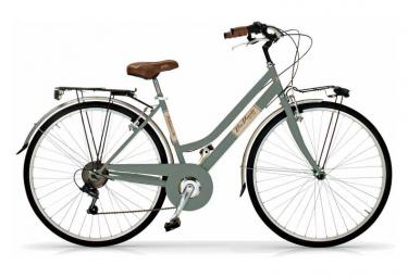 Vélo de ville VIA VENETO ALLURE 28  6V. FEMME gris