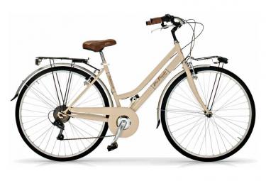 Vélo de ville VIA VENETO ALLURE 28  6V. FEMME beige
