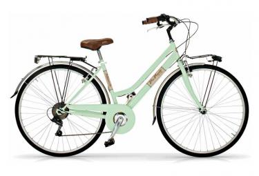 Vélo de ville VIA VENETO ALLURE 28  6V. FEMME vert clair