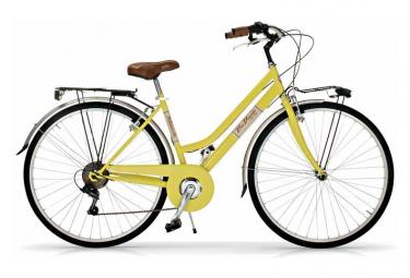 Vélo de ville VIA VENETO ALLURE 28  6V. FEMME jaune