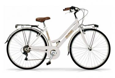 Vélo de ville VIA VENETO ALLURE 28  6V. FEMME blanc