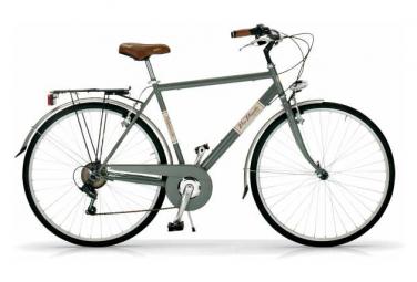 Vélo de ville VIA VENETO ALLURE 28  6V. HOMME gris