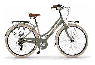 Vélo de ville VIA VENETO ELEGANCE 28  6V. FEMME gris