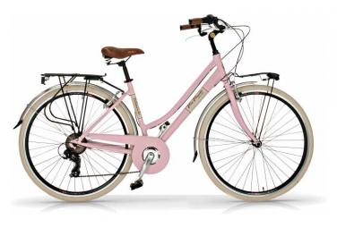 Vélo de ville VIA VENETO ELEGANCE 28  6V. FEMME rose