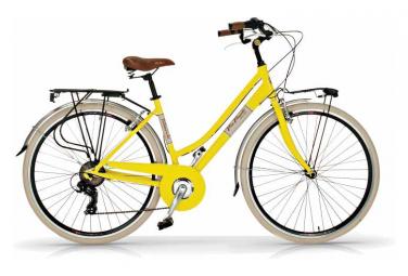 Vélo de ville VIA VENETO ELEGANCE 28  6V. FEMME jaune