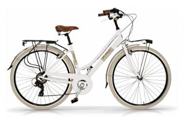 Vélo de ville VIA VENETO ELEGANCE 28  6V. FEMME blanc
