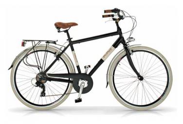 Vélo de ville VIA VENETO ELEGANCE 28  6V. HOMME noir mat