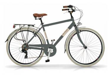 Vélo de ville VIA VENETO ELEGANCE 28  6V. HOMME gris