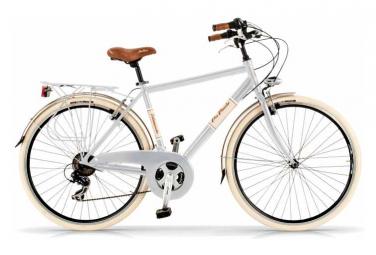 Vélo de ville VIA VENETO ELEGANCE 28  6V. HOMME blanc