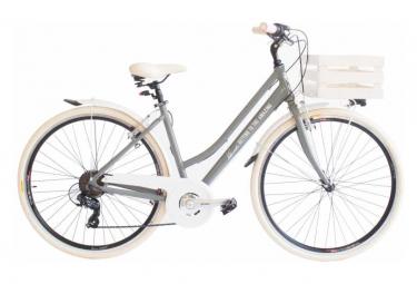 Vélo de ville VIA VENETO MILANO 28 6V. FEMME gris