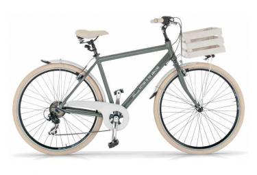 Vélo de ville VIA VENETO MILANO 28 6V. HOMME gris