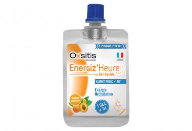 Gel énergétique Oxsitis Energiz'Heure Climat froid Abricot