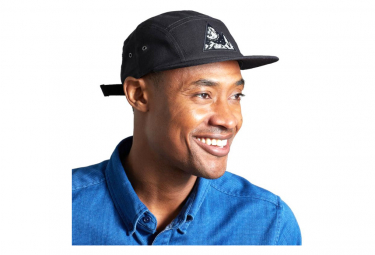 United By Blue Equator 5-Panel Cap Black