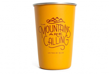 United By Blue Mountains Are Calling 16 OZ 473 ml Orange