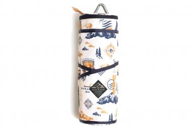 Image of Kit gourde et gobelets united by blue the drink kit beige orange
