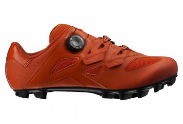 Zapatillas De Mtb Mavic Crossmax Elite Rojo   Naranja 42 1 2