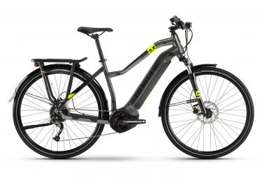 Bicicleta Híbrida Eléctrica Haibike SDuro Trekking 2.5 W 700 Gris