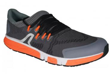 Chaussures de Marche Athlétique NewFeel RW 900 Longue Distance Gris Orange Unisex