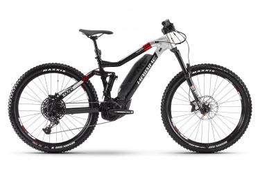 Haibike XDuro AllMtn 2.0 Electric Full Suspension MTB Sram NX Eagle 12S 500 Wh 27.5 '' Plus Nero Grigio 2020