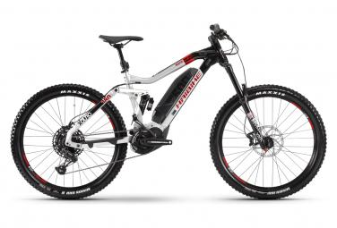 Haibike XDuro NDuro 2.0 Electric Full Suspension MTB Sram SX Eagle 12S 500 Wh 27.5 '' Plus Grigio Nero 2020