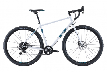 Breezer Radar Pro Gravel Bike Sram Apex 11S 29 '' Cool Grey Teal Blue 2020