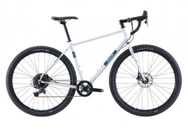 Gravel Bike Breezer Radar Pro Sram Apex 11V 2020 Gris / Blanc / Bleu