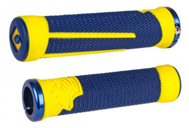 Handles ODI AG2 v2.1 Lock On 135mm Blue / Yellow