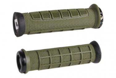 ODI Elite Pro Lock On 130mm Khaki / Black Grips