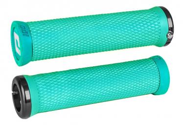 Poignées ODI Elite Motion 130mm Bleu Turquoise