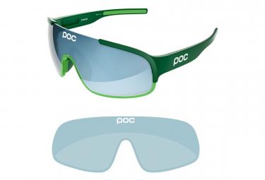 Gafas Poc Crave + green blue UV catégorie 2