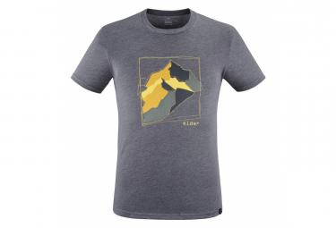 Camiseta Eider Homme Yulton Gris Negro
