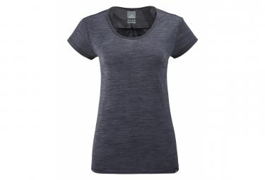 Tee shirt Eider Femme Flex Jacquard 2.0 Gris