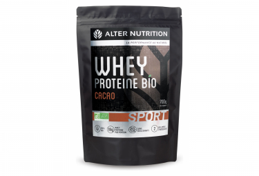 Prot in e alter nutrition whey protein bio sport cacao 700g