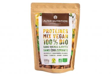 Boisson Protéinée Alter Nutrition / Mix Vegan Bio / 500g