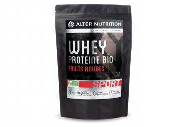 Boisson Protéinée Alter Nutrition Whey Proteine Bio Sport Fruits Rouges 700g
