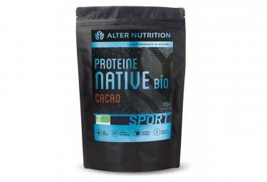 Boisson Protéinée Alter Nutrition Native Bio Sport Cacao 700g