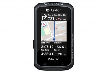 Compteur GPS Bryton Rider 860T + Ceinture Cardio/Capteur Cadence